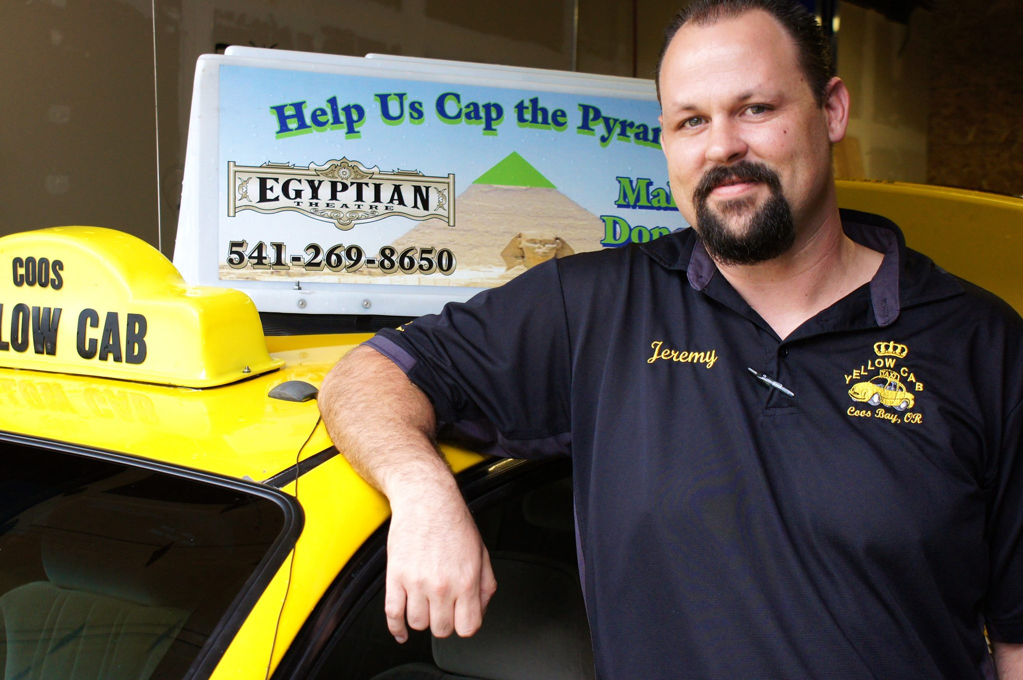 COOS BAY DRIVER IS NAMED NATIONAL TAXICAB DRIVER OF THE YEAR